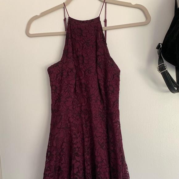 Kimchi Blue Dresses & Skirts - Burgundy Dress